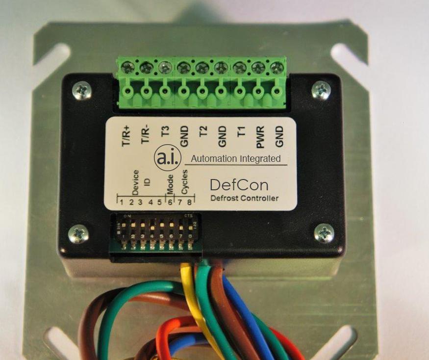 DefCon The ModBus Defrost Controller